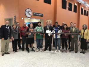 WECU ribbon cutting ceremony.